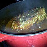 recette Rôti de dinde sauce tomate au miel curry et citron