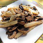 recette Poêlée de champignons et asperges au cerfeuil