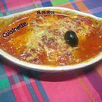 recette œufs durs en sauce tomates. gratiné.