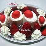 recette Petits suisses aux fraises.