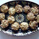 recette MUFFINS POMMES-AMANDE
