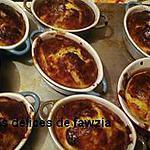 recette mini cocotte gratinée
