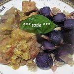 recette Sauté de porc aux pommes de terre vitelottes.