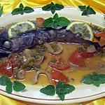 recette Merlu au vin blanc et au four.
