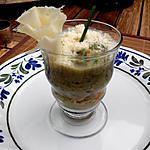 recette Verrine crabe / concombre