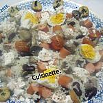 recette Une ritournelle de restes au riz.