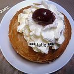 recette Bagels crème de châtaignes.griottes.