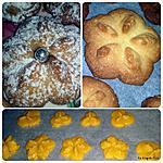 recette Biscuits aux amandes (presse à biscuits)