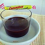 "recette crème aux ""carambars"""