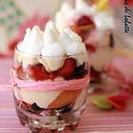 recette Méli-melo de fruits d'été, grapefruit curd et chantilly