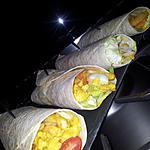 recette Galette kebab au poulet-curry et frites