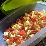 recette Salade *Pique-nique*de pâtes à l'italienne