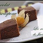 recette moelleux chocolaté au mascarpone et sirop de spéculoos