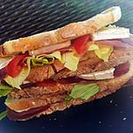 recette Sandwich *pique-nique* campagnard