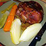 recette Jarret de porc avec légumes