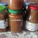 recette Confiture de rhubarbe.pastèque.en machine à pain.