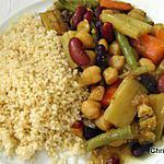 recette Tajine de Légumes et Légumes secs