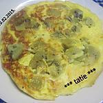 recette Omelette aux kiwis.