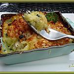 recette Hachis parmentier poulet, courgettes