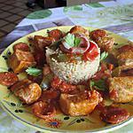 recette sauté de porc facon paella basquaise