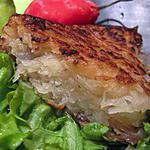 recette Galette de pommes de terre au haddock.
