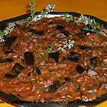 recette Daube d'aubergines à la provençale