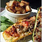 recette Courgettes farcies à la viande et aux légumes