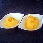 recette orange givrée