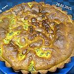recette Gâteau à la crème fraiche et kiwis.