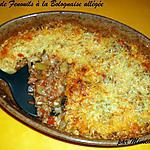 recette Gratin de Fenouil à la bolognaise allégée