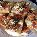 recette Tartine a l'Italienne