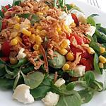 recette Salade croutillante