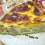 recette Tarte aux poires, mascarpone.