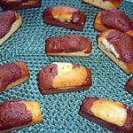 recette Mini-marbrés au chocolat