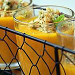 recette Gaspacho de melon aux pignons parfumés