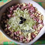 recette Salade de chou blanc