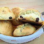recette scones aux raisins secs