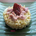 recette risotto de coquillettes-thon