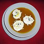 recette Velouté de Potimarron, crème fouettée à la Chataîgne