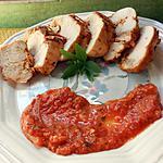 recette Blancs de poulet sauce pesto tomates