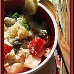 recette Salade de pommes de terre au poulet et sauce au thon