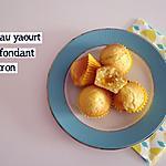 recette Muffins au yaourt coeur fondant citron