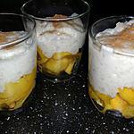 recette Perles de tapioca au lait de coco et à la mangue
