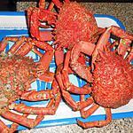 recette Araignée de mer vinaigrette bigoudenne