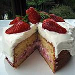 recette Le Sacha aux fraises