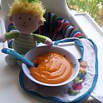 recette Purée bébé de patate douce