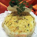 recette Pâtisson blanc au Parmentier.