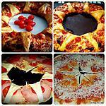 """recette Pizza """"Soleil"""""""