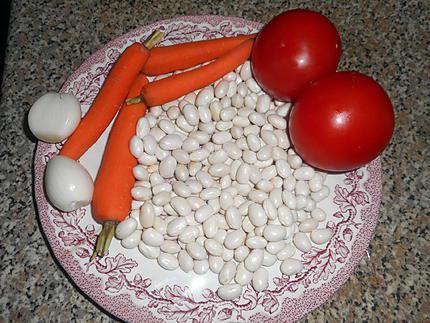 Recette de queue de lotte aux cocos de paimpol - Temps de cuisson queue de lotte ...