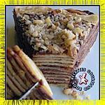 recette Gâteau de crêpes au Nutella